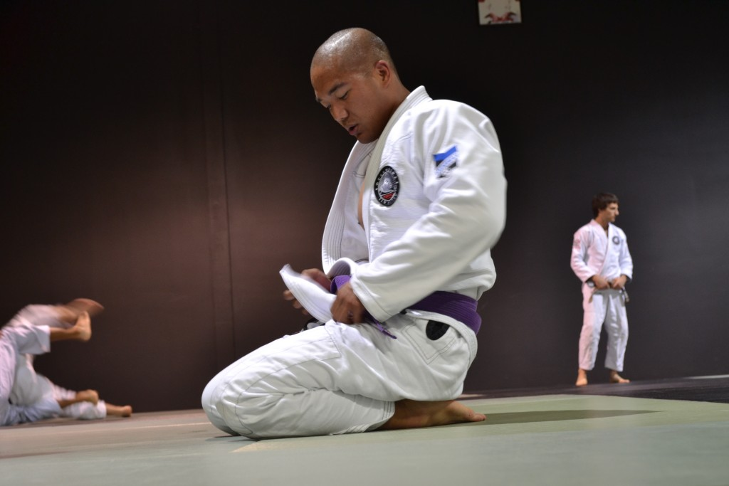 JIU JITSU PURPLE BELT